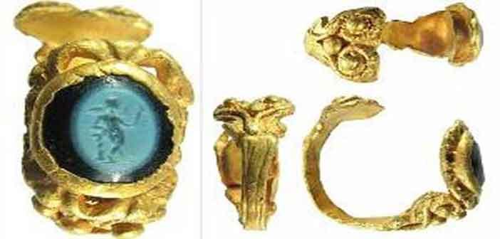 ১৭০০ বছরের পুরনো আংটি